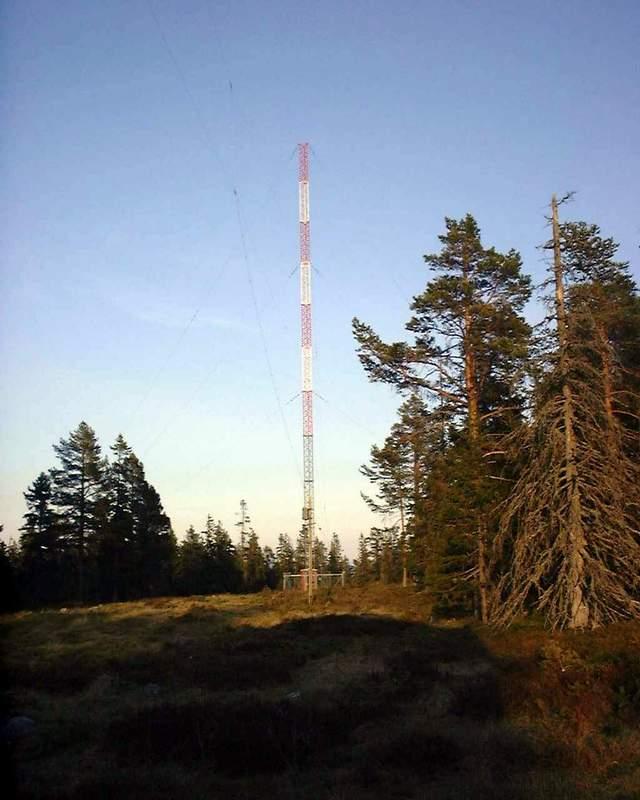 Bjuröklubb main TX antenna